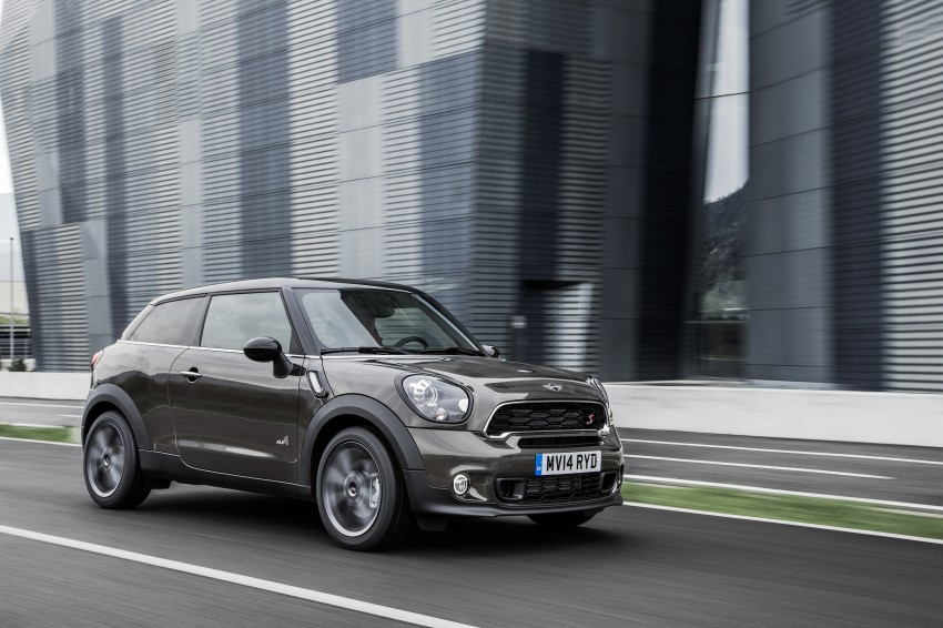 MINI Paceman gets very minor facelift, Beijing debut Image #242511