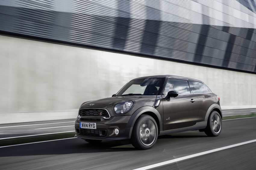 MINI Paceman gets very minor facelift, Beijing debut Image #242512