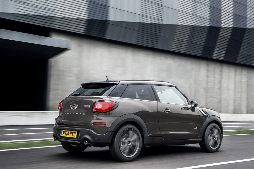 MINI Paceman gets very minor facelift, Beijing debut Image #242504