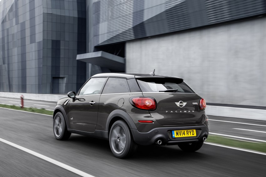 MINI Paceman gets very minor facelift, Beijing debut Image #242507
