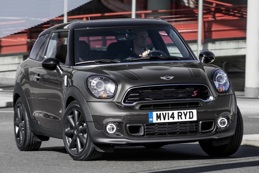 MINI Paceman gets very minor facelift, Beijing debut Image #242508