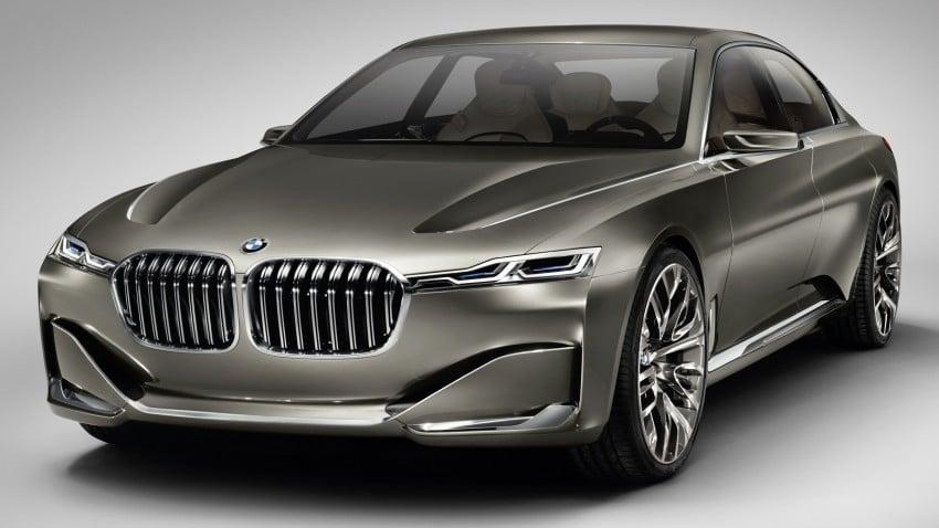 BMW Vision Future Luxury – 9 Series imminent? Image #242529