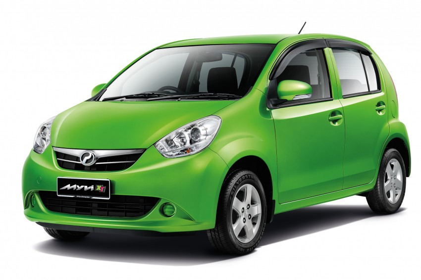 Perodua Myvi XT, new Extreme launched: from RM42k Image #240287