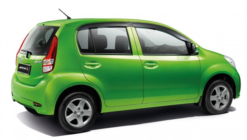 Perodua Myvi XT, new Extreme launched: from RM42k Image #240286