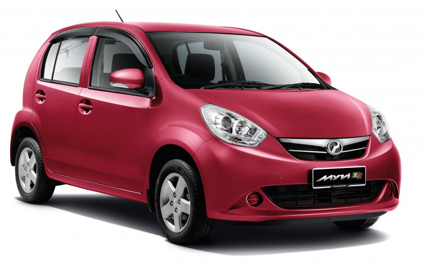 Perodua Myvi XT, new Extreme launched: from RM42k Image #240290