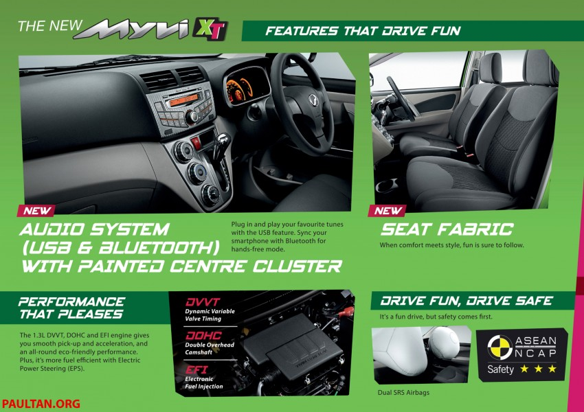 Perodua Myvi XT, new Extreme launched: from RM42k Image #240302