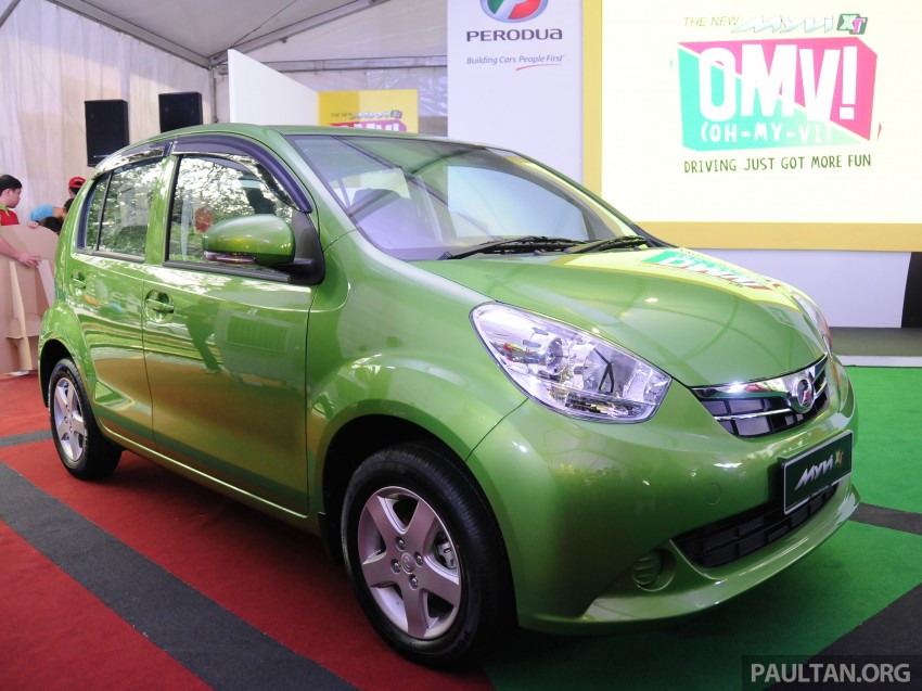 Perodua Myvi XT, new Extreme launched: from RM42k Image #240354