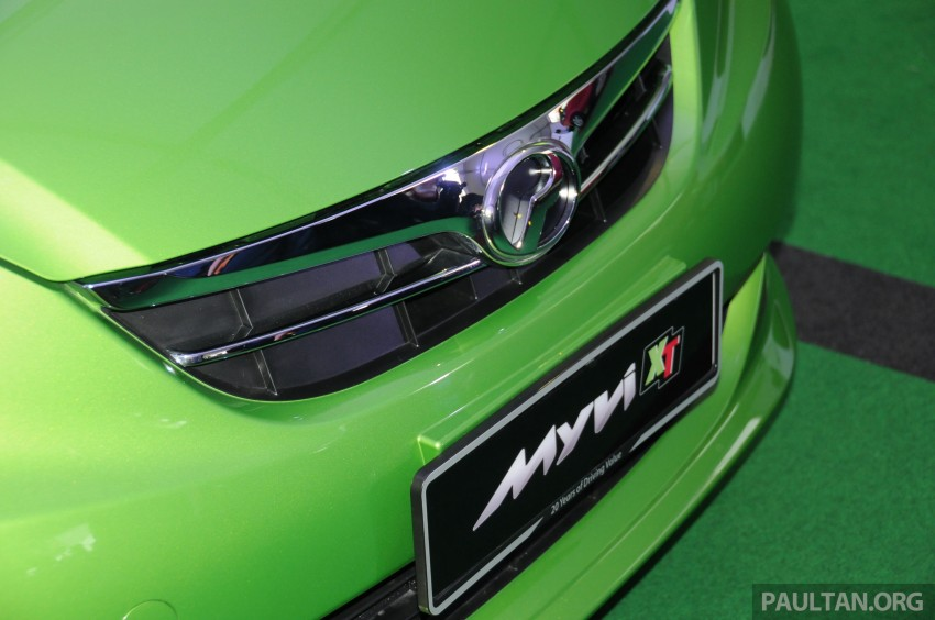 Perodua Myvi XT, new Extreme launched: from RM42k Image #240355