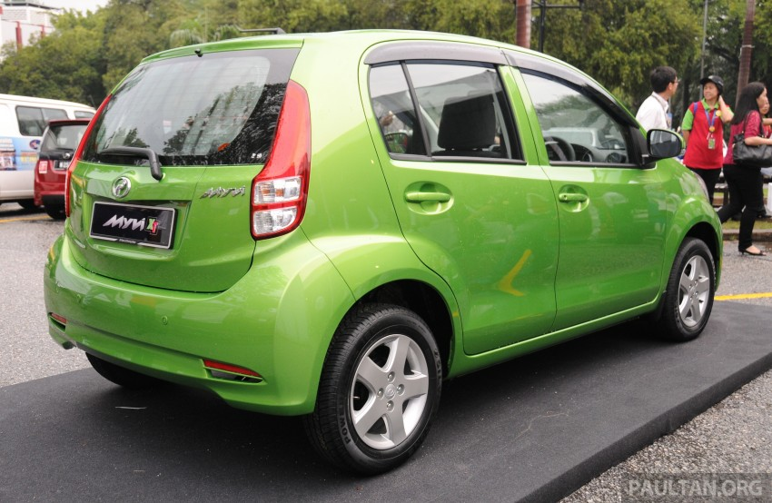 Perodua Myvi XT, new Extreme launched: from RM42k Image #240398