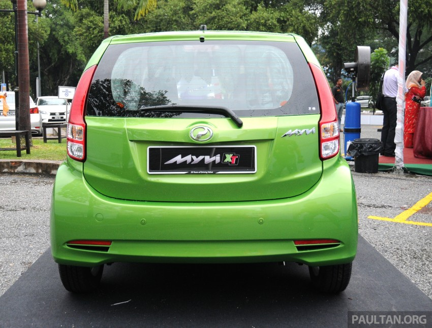 Perodua Myvi XT, new Extreme launched: from RM42k Image #240399