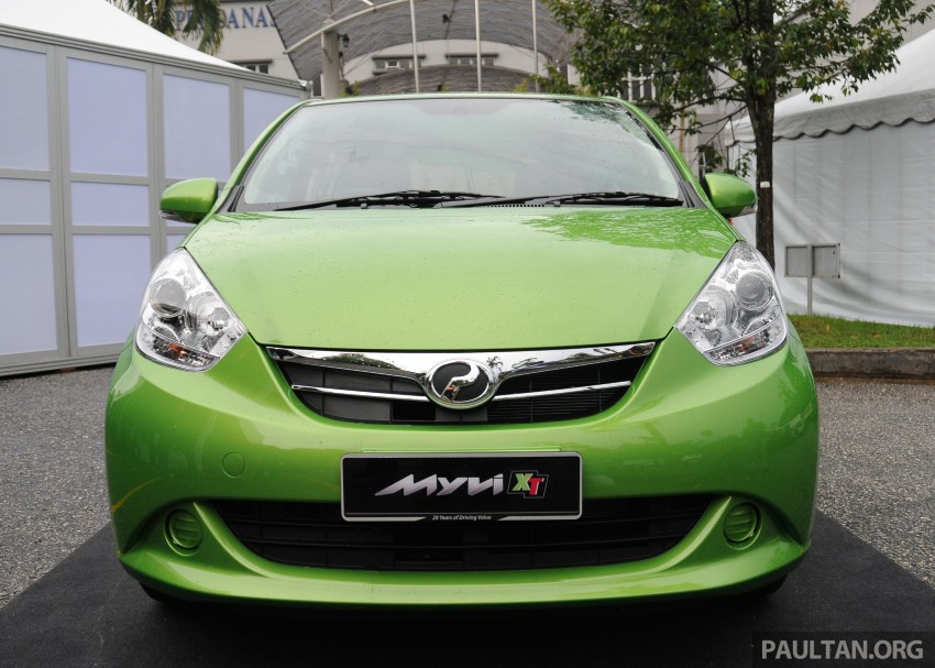 Perodua Myvi XT, new Extreme launched: from RM42k Image #240403