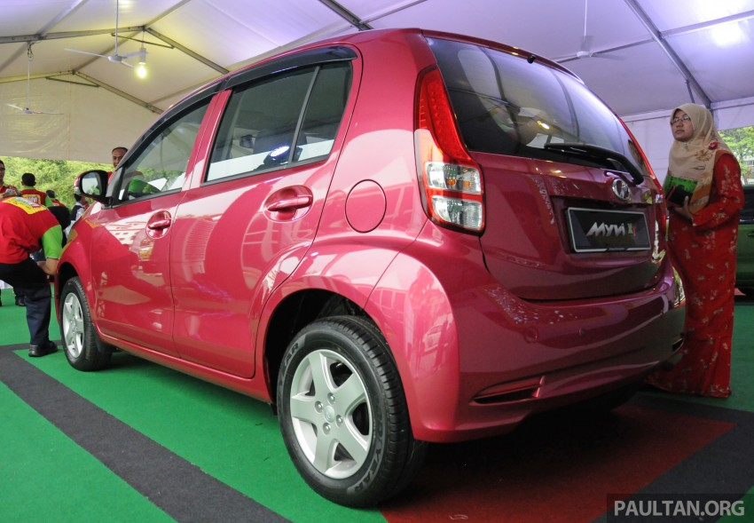 Perodua Myvi XT, new Extreme launched: from RM42k Image #240405