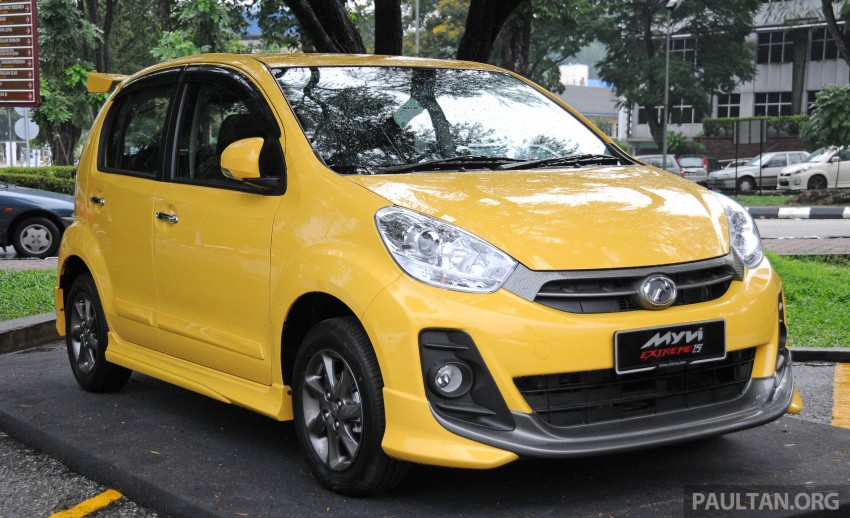 Perodua Myvi XT, new Extreme launched: from RM42k Image #240406