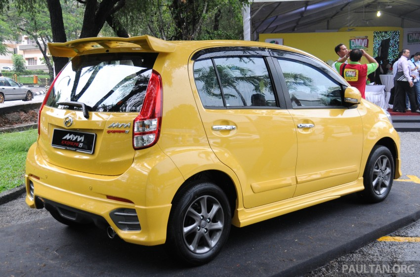 Perodua Myvi XT, new Extreme launched: from RM42k Image #240408