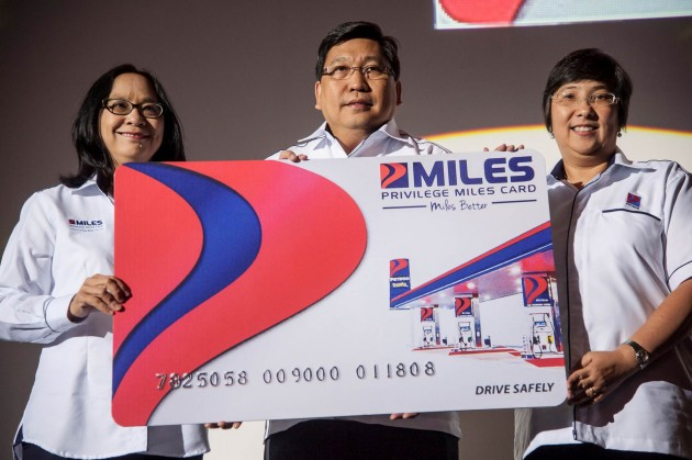Petron Miles Launch by Petron Country Manager Vice President of Petron Corp and Head of Retail Petron Malaysia (4)