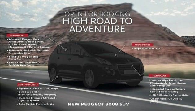 Peugeot 3008 FL FB teaser