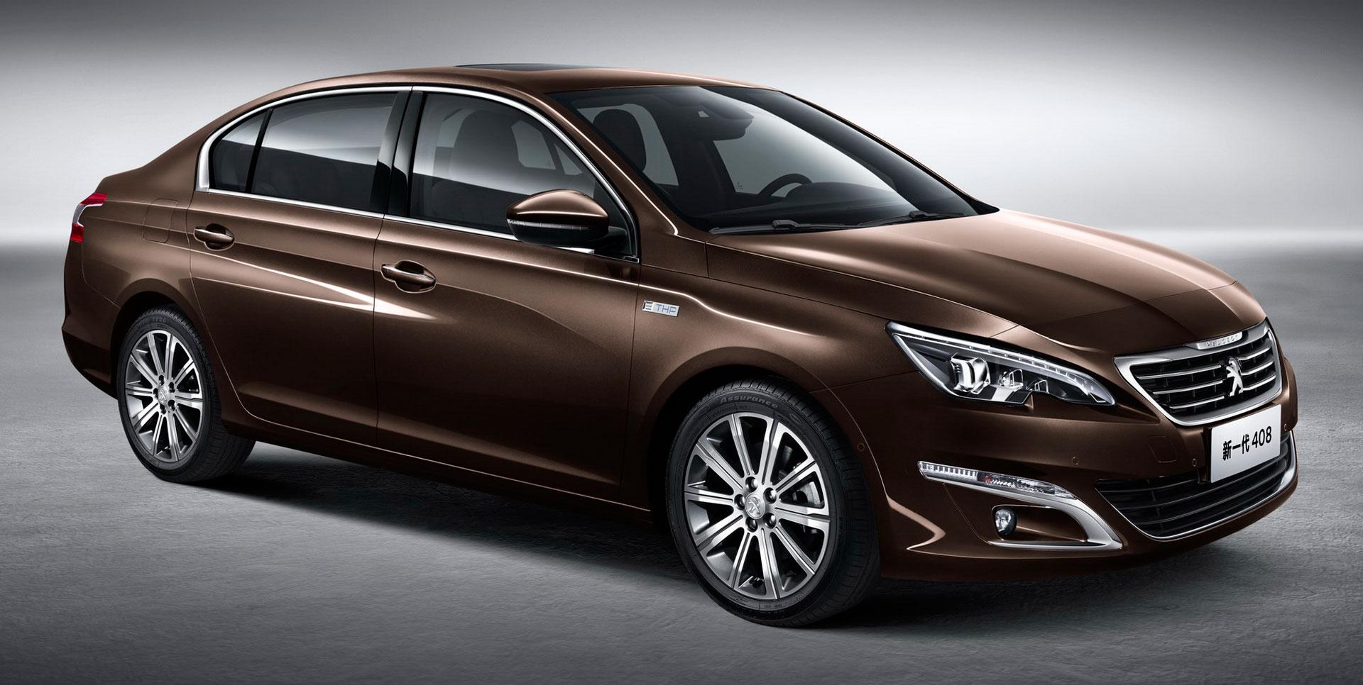 New Peugeot 408 Sedan Unveiled At Auto China 2014 Image 243419