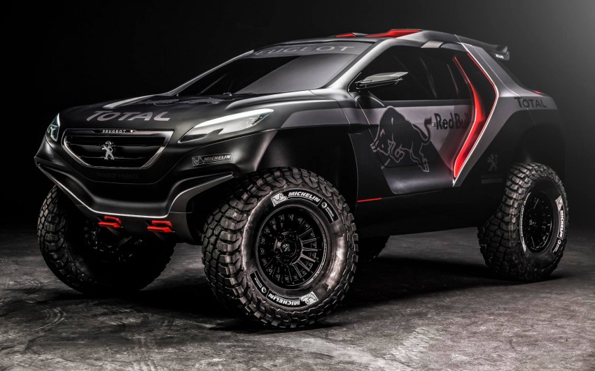 Peugeot 2008 DKR to take on the Dakar Rally in 2015 Image #241307