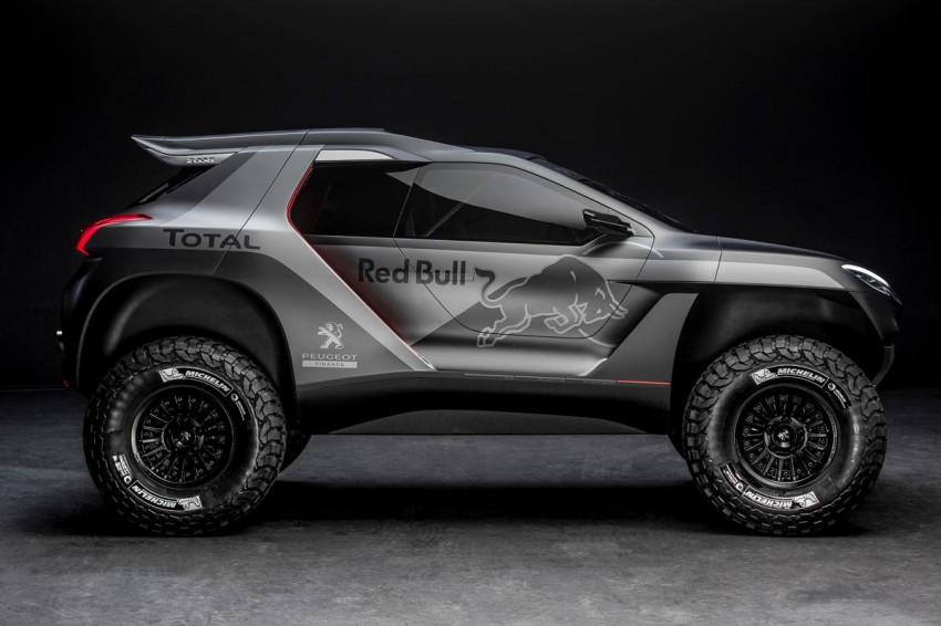 Peugeot 2008 DKR to take on the Dakar Rally in 2015 Image #241308