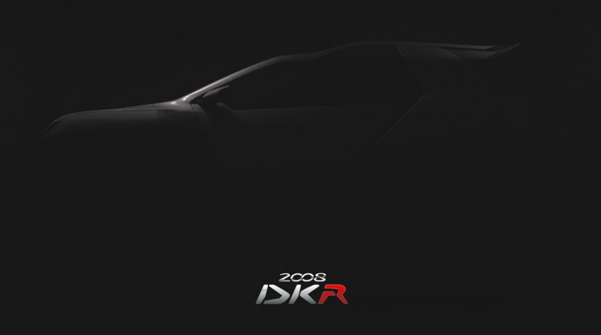 Peugeot 2008 DKR to take on the Dakar Rally in 2015 Image #241219