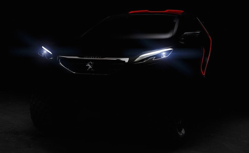 Peugeot 2008 DKR to take on the Dakar Rally in 2015 Image #241220