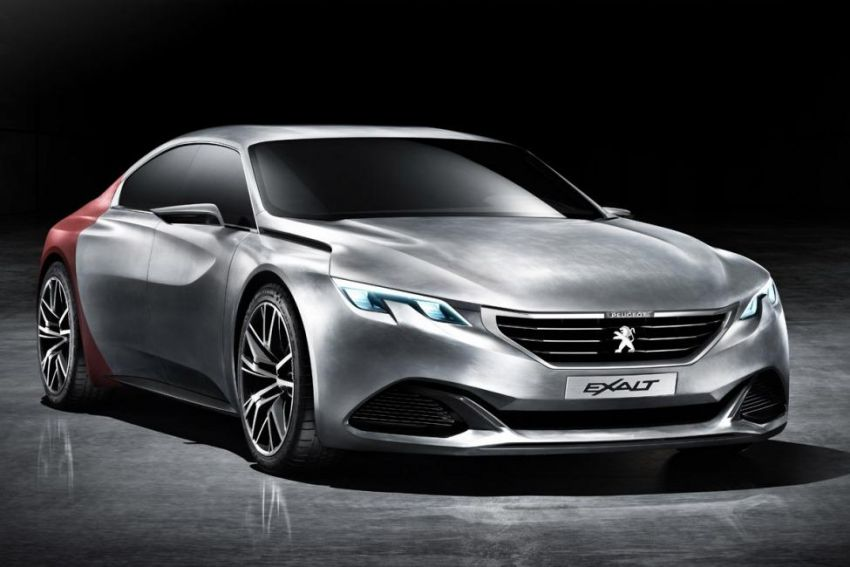 Peugeot Exalt Concept revealed – is this the next 408? Image #239905