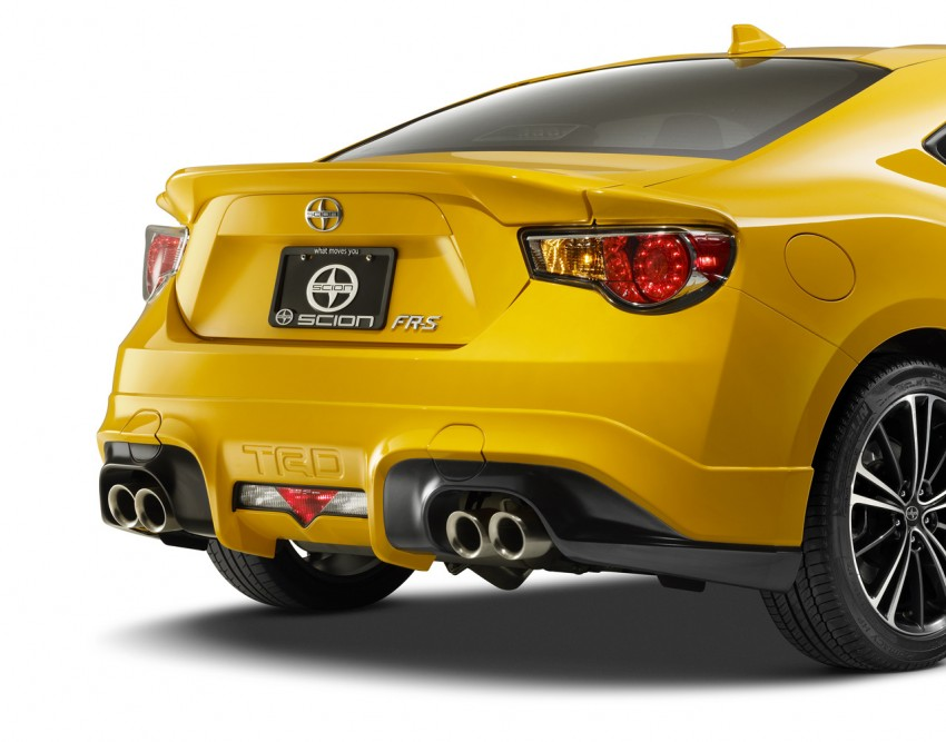 Scion FR-S Release Series 1.0 – 1,500-unit TRD special Image #244042