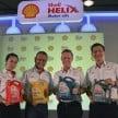 Shell Helix launch 1
