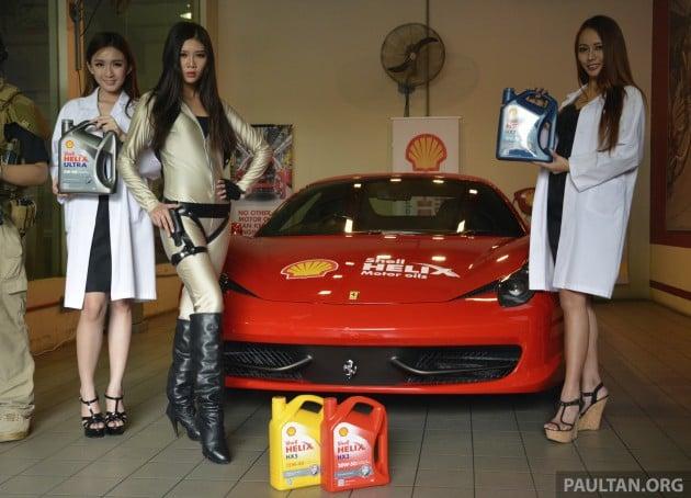 Shell Helix launch 4