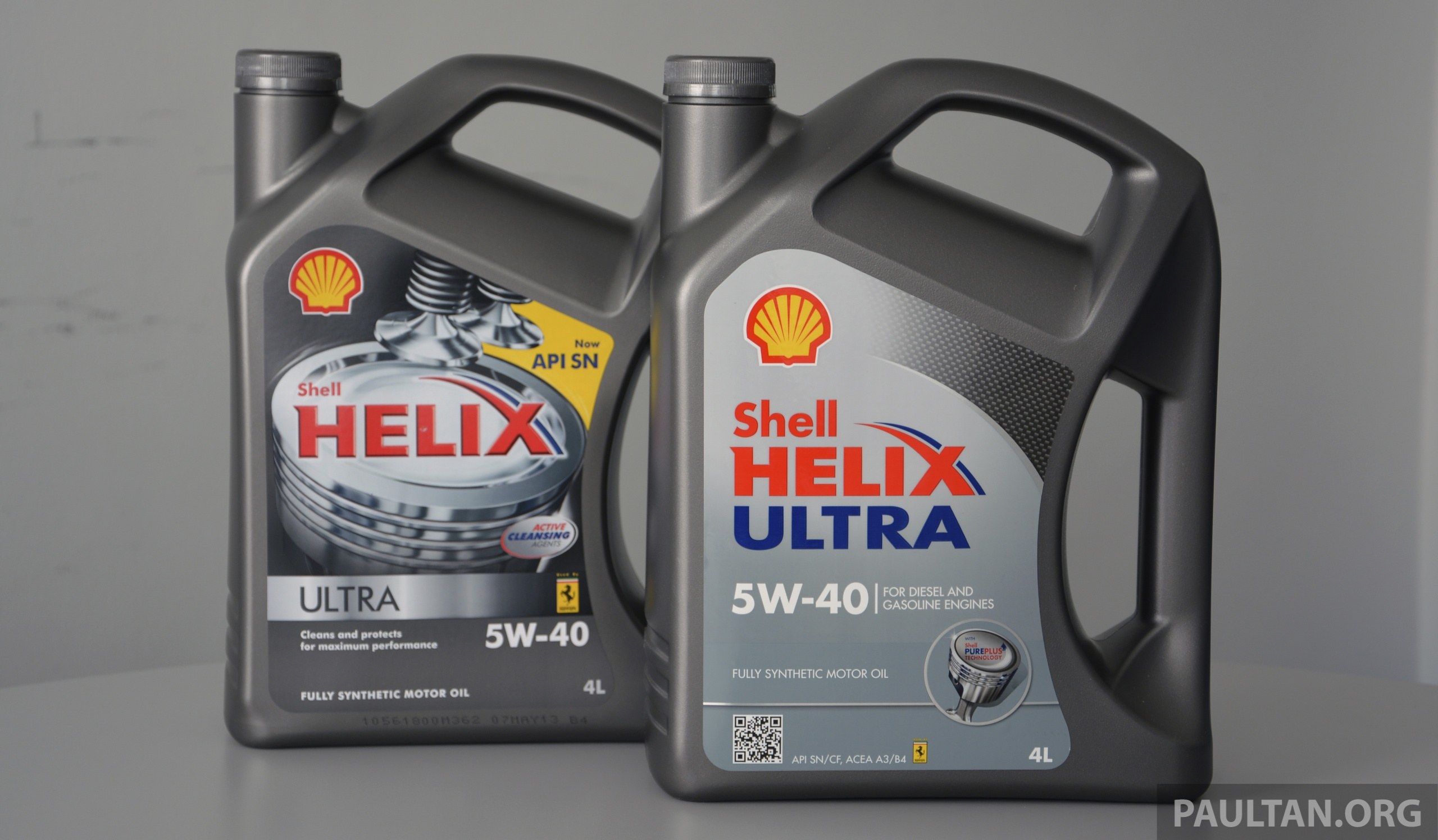 New Shell Helix Ultra 5w 40 Introduced In Malaysia Image 240378