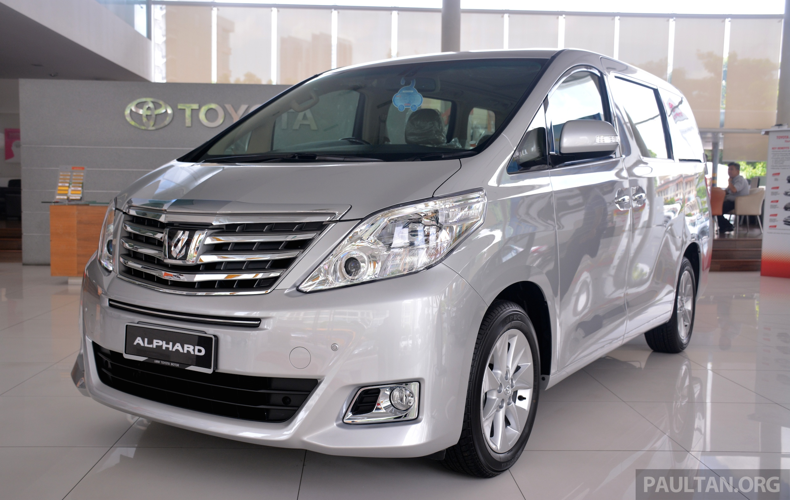 Toyota alphard new car price in malaysia 12