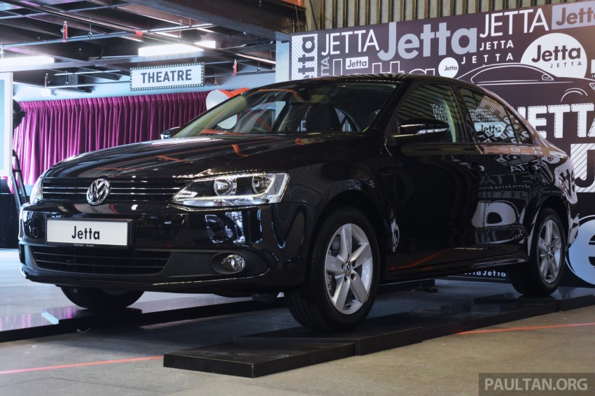 CKD Volkswagen Jetta 1.4 TSI launched – RM131k Image #244831