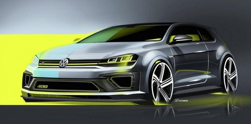 Volkswagen Golf R 400 concept teased, Beijing-bound Image #242288