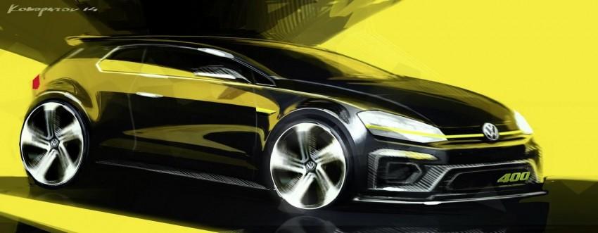 Volkswagen Golf R 400 concept teased, Beijing-bound Image #242289