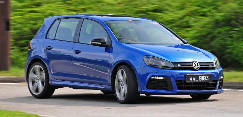 SPIED: Volkswagen Golf R Mk7 seen at JPJ Putrajaya Image #244928