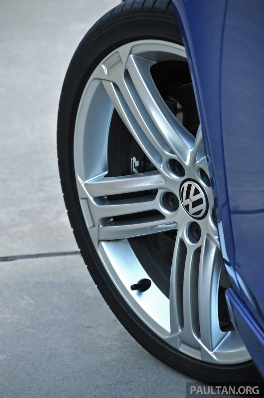 SPIED: Volkswagen Golf R Mk7 seen at JPJ Putrajaya Image #244938