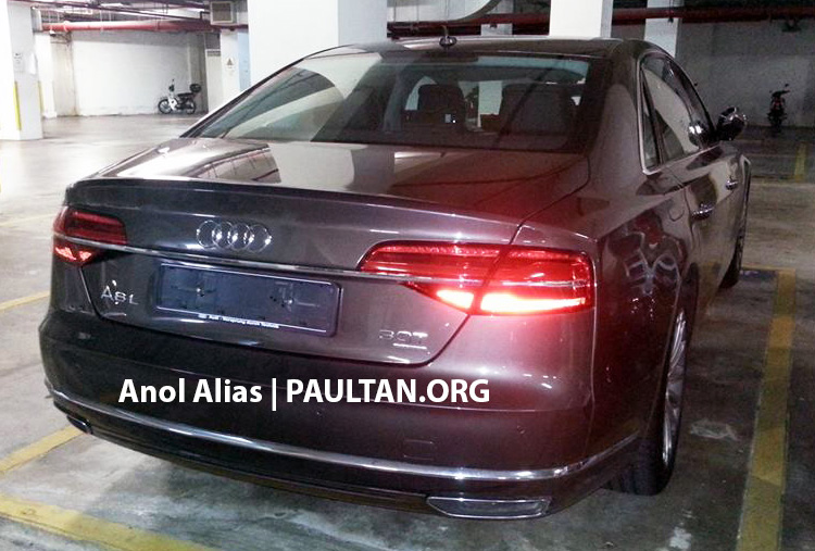 Audi A8 L 3.0 TFSI facelift seen at JPJ – Matrix LEDs! Image #241810
