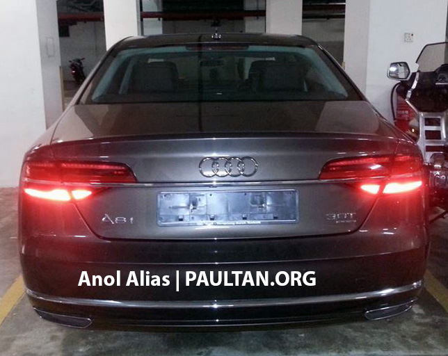Audi A8 L 3.0 TFSI facelift seen at JPJ – Matrix LEDs! Image #241814