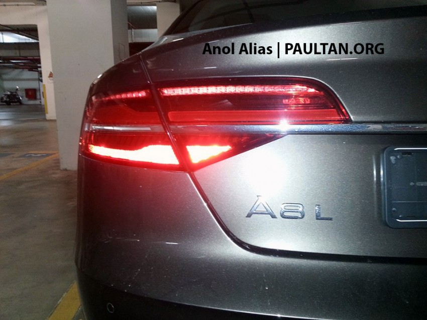 Audi A8 L 3.0 TFSI facelift seen at JPJ – Matrix LEDs! Image #241818