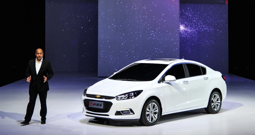 Chevrolet Cruze – the next-gen premieres in Beijing Image #242891