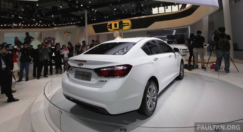 Chevrolet Cruze – the next-gen premieres in Beijing Image #242903
