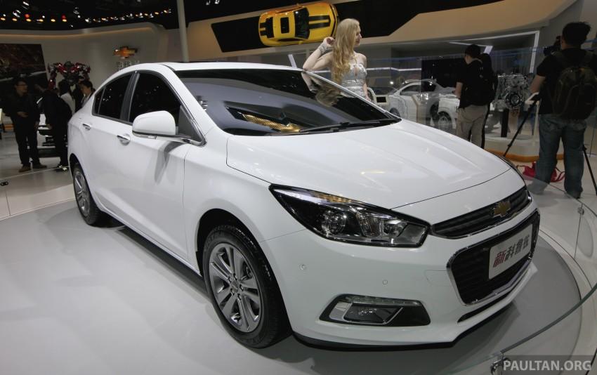 Chevrolet Cruze – the next-gen premieres in Beijing Image #242905