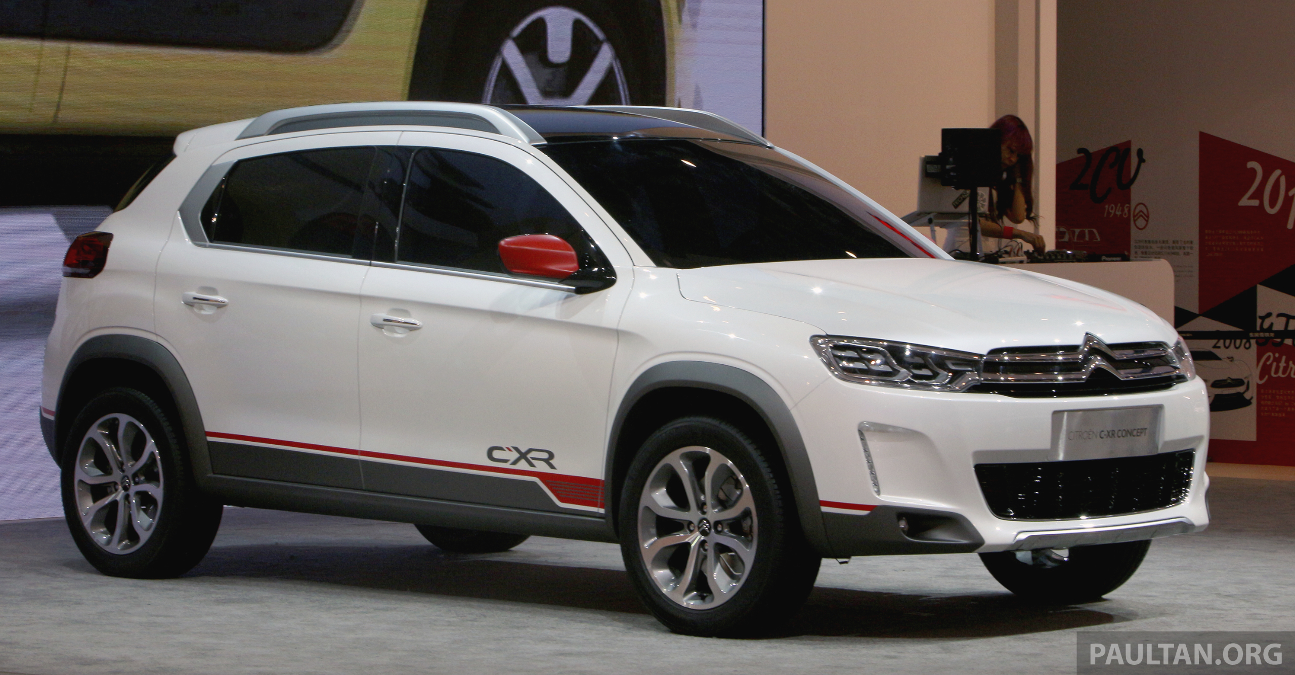 Suv >> Citroen C-XR concept SUV unveiled at Beijing show Paul Tan - Image 243253