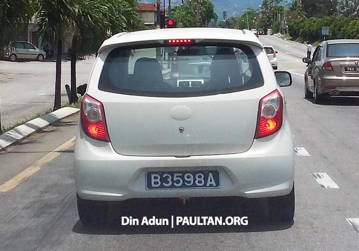 Daihatsu Ayla seen again – Perodua Viva replacement? Image #238734