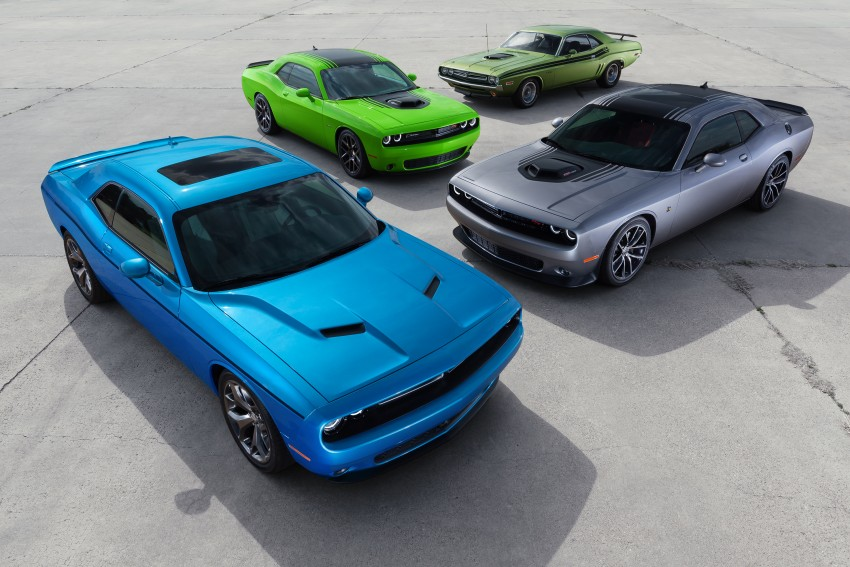 2015 Dodge Challenger makes debut in New York Image #244564