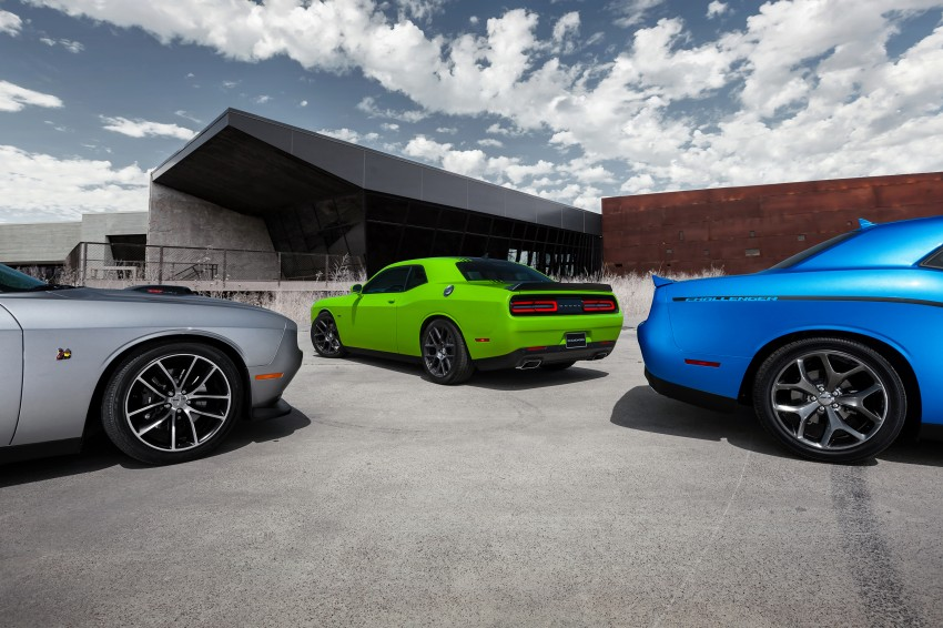 2015 Dodge Challenger makes debut in New York Image #244565