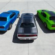 From Left to Right: 2015 Dodge Challenger SXT, 2015 Dodge Challe