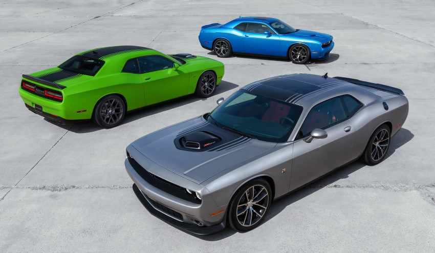 2015 Dodge Challenger makes debut in New York Image #244571
