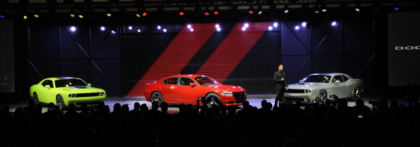 2015 Dodge Challenger makes debut in New York Image #244607