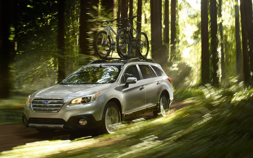 2015 Subaru Outback – jacked-up Legacy debuts in NY Image #243830